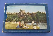 Monarch Windsor Castle Novelty Deck Playing Cards VINTAGE