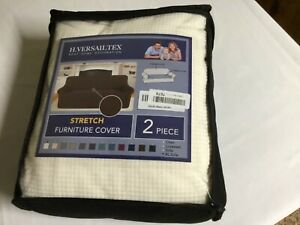 H.VERSAILTEX Stretch Sofa Covers 2 Piece for 3 Cushion Large Couch Covers (xl)