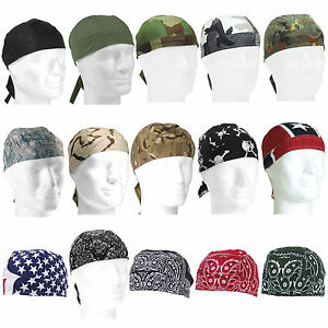 Headwrap viele Farben Army Biker Kopftuch Bandana tarn camo Rocker Tuch Mütze