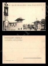 1902 Torino Esp. Int. d'Arte Decorativa Moderna - Ingresso principale - nuova