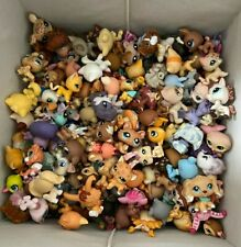 Littlest Pet Shop lot, 20 pets and 30 accessories selected by random