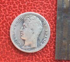 Charles X - très rare et jolie monnaie de 1/2 Franc  1829 BB -- tirage 22.027ex