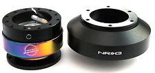 NRG Steering Wheel Short Hub Adapter Quick Release BKM For Infiniti G35 G37