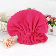 Asciugamani in microfibra Quick Dry Hair Cappelli Magic asciugatura Turbante Wrap Spa Bath CAP NUOVO