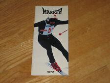 New listing 1978 1979 Marker K2 Ski Sales Brochure Catalogue Racing Downhill