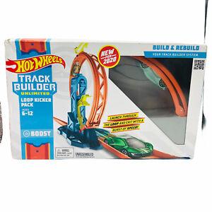Hot Wheels Track Builder Unlimited Loop Kicker Pack Boost Build & Rebuild READ!