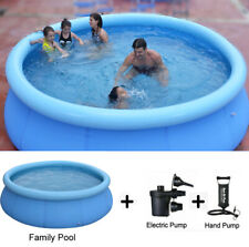 Summer Portable Outdoor PVC Inflatable Swimming Pool Kids Adults Water Sports