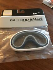 Nike Lebron James Baller ID Bands Wristbands Bracelets New In Package Blue White
