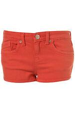 Topshop Moto Melon Denim Hot Pants Shorts UK 14 EURO 42 US 10 W32 BNWT RRP £26