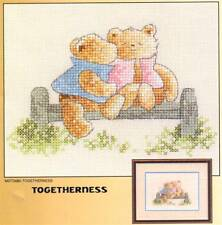 Heritage Stitchcraft TOGETHERNESS Cross Chart Only ~ Margaret Sherry's Teddies