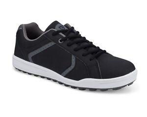 Founders Club Men's Spikeless Street  2019 Golf Shoe Black/Grey Model Scott