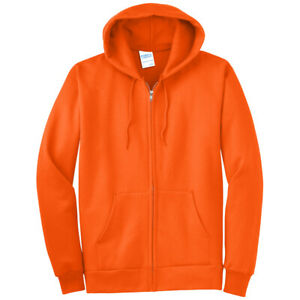 Port & Company Tall Fleece Full-Zip Hooded Sweatshirt