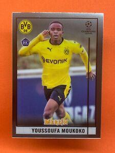 TOPPS MERLIN CHROME 20/21 YOUSSOUFA MOUKOKO #80 ROOKIE CARD RC