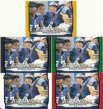 2016 Score Marcus Mariota Sidelines 5 Card Parallel Black Red Green Lot