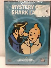 Mystery Of Shark Lake DVD The Adventures Of TINTIN 1972 Animated Remastered New