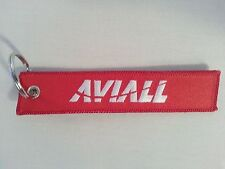 Boeing Aviall Flight Tag Keychain / Remove Before Flight / New