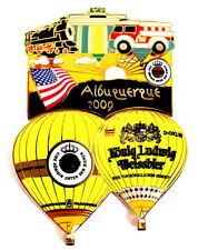 WARSTEINER BALLON Pin / Pins - ALBUQUERQUE IBF 2009 / 2 PINS!!!!!!!!!