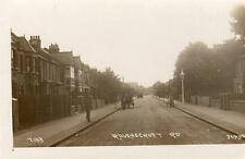 Ravenscroft Road Gunnersbury Chiswick  RP old PC used 1918 Johns Good