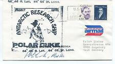 Antarctic Research Ship Polar Duke Deep Freeze Palmer Station Cover SIGNED