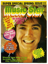 MUSIC STAR Magazine 24/3/1973 Jackson 5 Rod Stewart David Cassidy Sweet