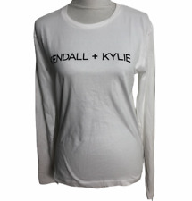 Kendall & Kylie for OVS | White Long Sleeve Cotton Shirt