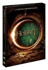 LO HOBBIT - LA TRILOGIA CINEMATOGRAFICA (3 DVD) COF. UNICO, NUOVO, ITA.