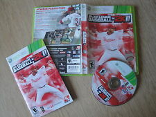 MAJOR LEAGUE BASEBALL 2K11 Nla XBOX 360 Game NTSC