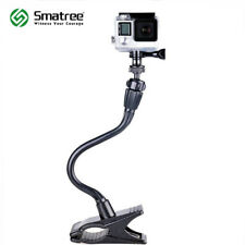Smatree Jaws Flex Clamp Mount Gooseneck Extension for GoPro Hero 6/5/4/3 Cameras