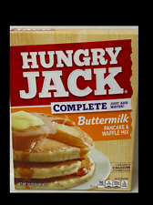 HUNGRY JACK COMPLETE JUST ADD WATER BUTTERMILK PANCAKE & WAFFLE MIX 32 OZ