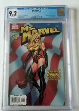 CGC 9.2 MS MARVEL #1 /1st Appearance Carol Danvers Frank Cho Cover ✨