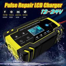 12V / 24V Automatico Caricabatterie Mantenitore Carica Batteria Per Auto Moto IT
