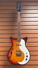 Danelectro D5912 Vintage 12 String Electric Guitar Cherry Sunburst
