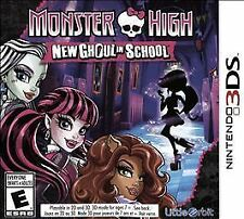 Nintendo 3DS Monster High: New Ghoul in School (Nintendo 3DS, 2015) NEW & SEALED