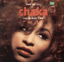 CHAKA KHAN - Give Me All / The Woman I Am - Warner
