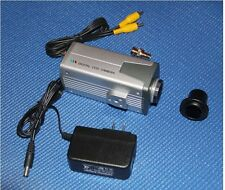 """New 1/3"""" Sony CCD MICROSCOPE VIDEO CAMERA KIT FOR TV DISPLAY"""