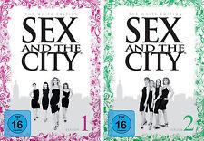 5 DVDs * SEX AND THE CITY : SEASON 1 + 2 # NEU OVP =