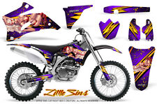 YAMAHA YZ250F YZ450F 06-09 GRAPHICS KIT CREATORX DECALS LSPR