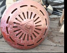 Vintage Cast Iron Grinnell Automatic Sprinkler Fire Alarm