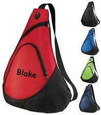 Backpack Shoulder Sling Pack Bag Travel Ringbearer Wedding Personalized Monogram
