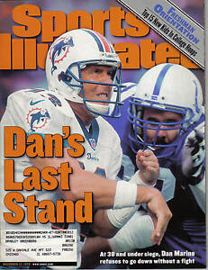 1999,12/13  Sports Illustrated, football, magazine, Dan Marino, Miami Dolphins