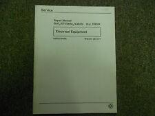 1993 94 95 96 97 VW GTI Jetta Golf 117 Electrical Equipment Service Manual OEM