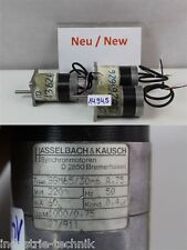 Hasselbach & kausch SGM65/30-6  220 VOLT Synchronous motor 1000 min elektromotor