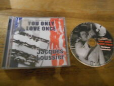 CD OST Jacques Loussier - You Only Love Once (14 Song) HARKIT REC jc