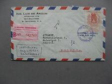 EL SALVADOR, R-cover to Belgium 1965,