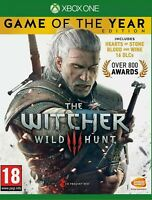 The Witcher 3 III: Wild Hunt Game of the Year Edition *New* Sticker Sealed