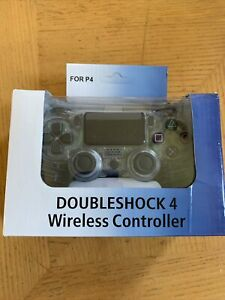 Double Motor Vibration 4 Black Gaming Wireless Gamepad Joystick Controller