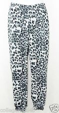 MIKEN Cover Up Pants Size S    Polyester Animal Print  Multi Color   NWT $28