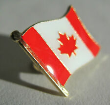 CANADA (Canadian) l'Unifolié Flag Pin Badge High Quality Gloss Enamel
