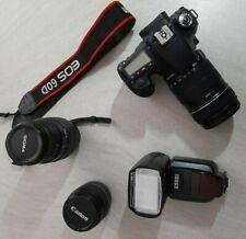 CANON EOS 60D + 18-135 - 18-55 - Sigma 70-300 APO DG - Flash ESDDI + caricatore