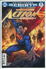 ACTION COMICS #985 - NEIL EDWARDS VARIANT COVER - REBIRTH - DC COMICS/2017